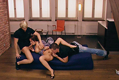 Cindy Dollar gets double penetrated